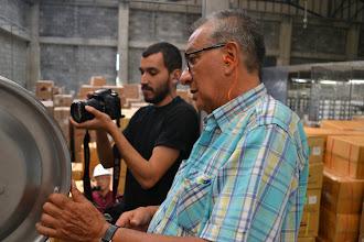 Photo: José Malgón registra Gilberto explica TERMILENIO