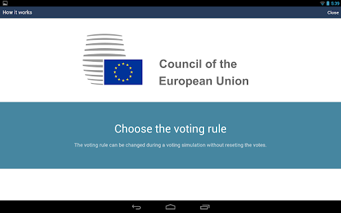 Council Voting Calculator- screenshot thumbnail