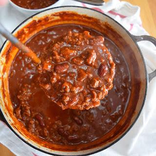 Simple Chili.
