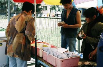 Photo: 03083 ウランバートル/風景/ダライ・エージ(海の母)/食料品専門の市場