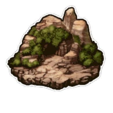 瞑想の岩屋