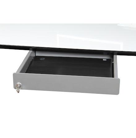 Laptop låda 400x300x64 mm silv