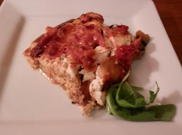 Grilled Fresh Vegetable Lasagna