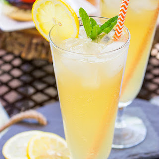 Sparkling Maple Lemonade