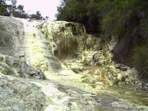 Photo: sulphuric rests