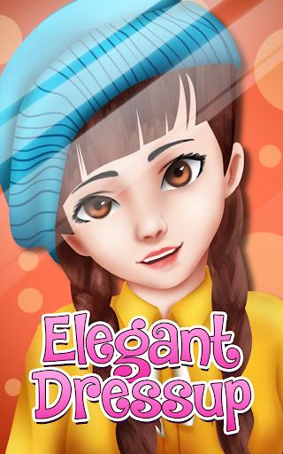 無料休闲Appのエレガントな女の子のドレス 記事Game