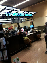 "Photo: Oh, how delightful! I turn the corner and there's Starbucks! ""One giant coffee, please!"""