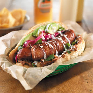 Sonoran-Style Hot Dog.