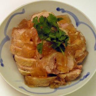 Drunken Chicken (紹興醉雞).