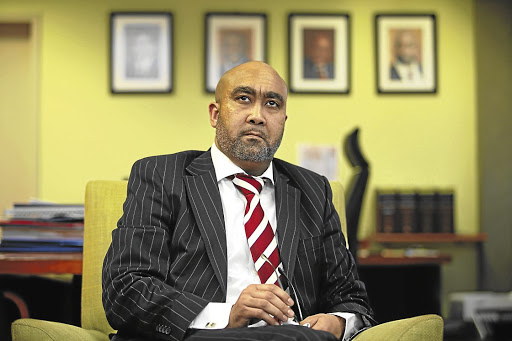 Shaun Abrahams. Picture: FINANCIAL MAIL