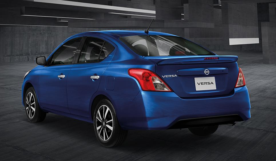 Nissan Versa 2019 rear