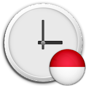 Indonesia Clock & RSS Widget
