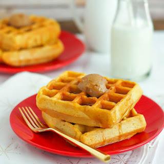 Cornmeal Waffles.
