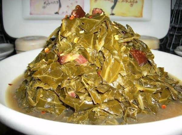 Gigi's Tipsy Collard Greens Recipe