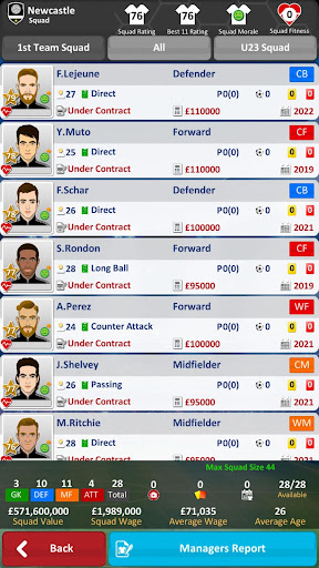 Club Soccer Director 2019 - Soccer Club Management 2.0.25 screenshots 6