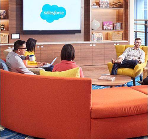 People working at Salesforce