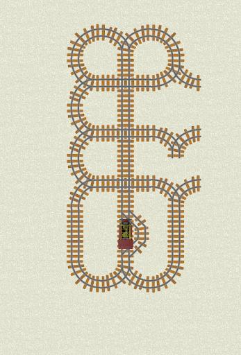 レール迷路:列車の謎を解きます