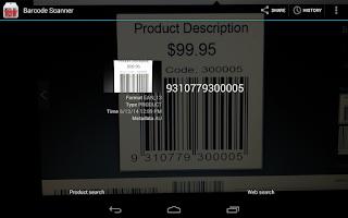 Screenshot of Barcode &QRCode Scanner