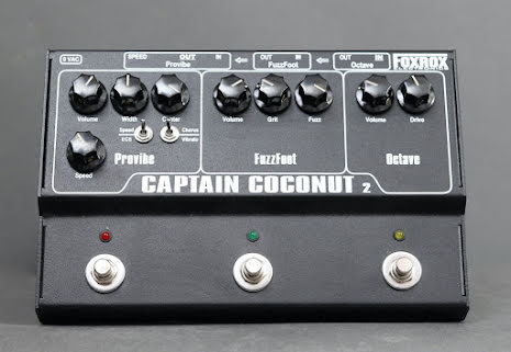 Foxrox Captain Coconut 2 USED. Excellent Condition. With Manual and PSU, No Box