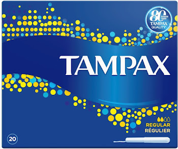 Tampax Regular Tampons Applicator - 20pk