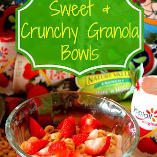 Sweet & Crunchy Granola Bowls