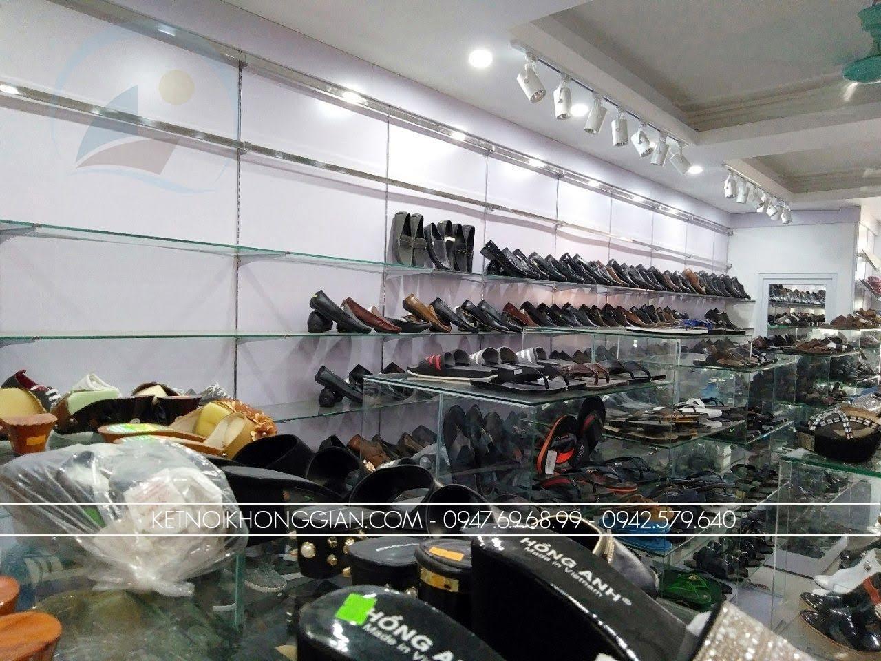 thiết kế thi công nội thất shop giày dép thời trang 8