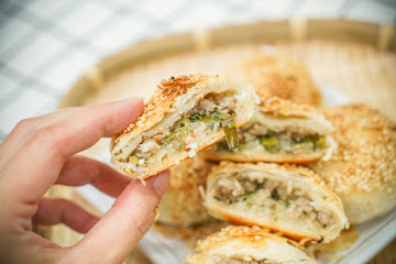 蟹殼黃蔥酥餅 Webber's Pastry Store