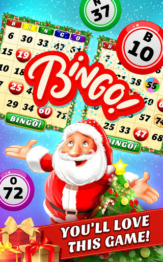 Christmas Bingo Santa's Gifts Screenshot