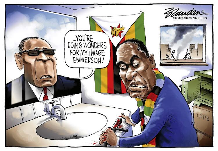 CARTOON | Mnangagwa doing wonders for Robert Mugabe's image