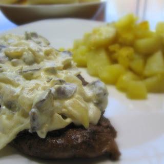 Dreamy Venison Steak.