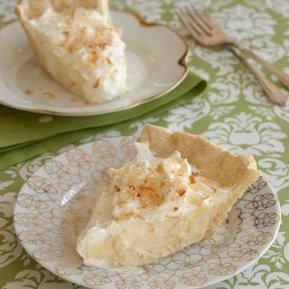 Classic Toasted Coconut Cream Pie
