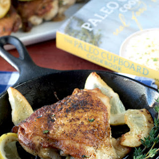Lemon and Thyme Chicken Thighs from Paleo Cupboard Cookbook