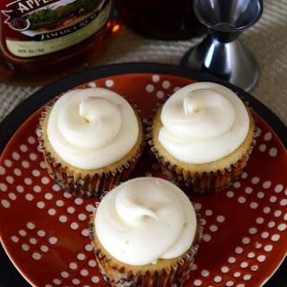 Rum and Vanilla Cupcakes.