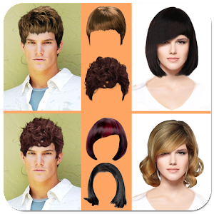 Hairstyle Changer women hairstyle changer hair style photo booth Hair Changer