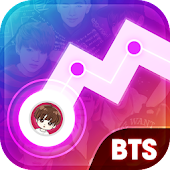 Kpop Dancing Songs - Music Line Free Game