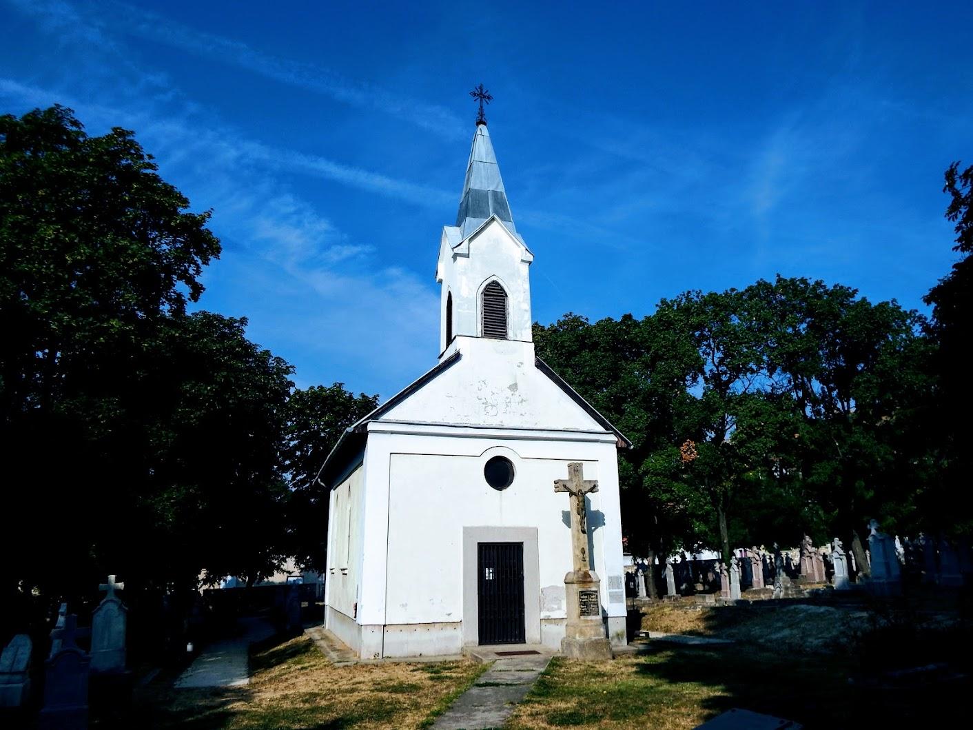 Budaörs - Csulits görögkatolikus temetőkápolna az ótemetőben