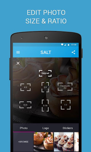 SALT - Watermark, resize & add text to photos  screenshots 3