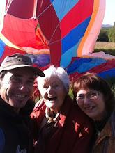 Photo: Voyage en Montgolfière pour fêter ses 90 ans
