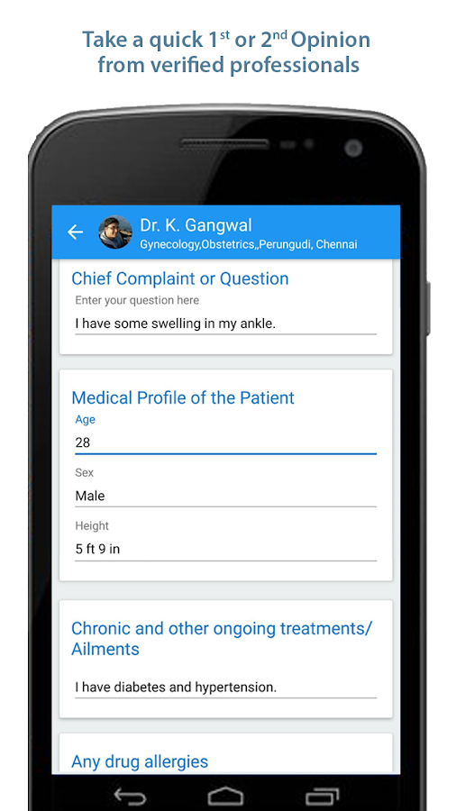 Nextcures - Find health & care- screenshot