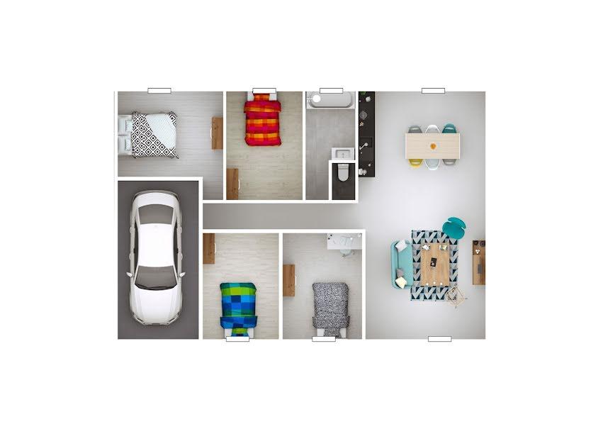 Vente maison 5 pièces 100 m² à Saint-Marcel-de-Félines (42122), 187 800 €