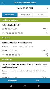 Mensa Augsburg - náhled