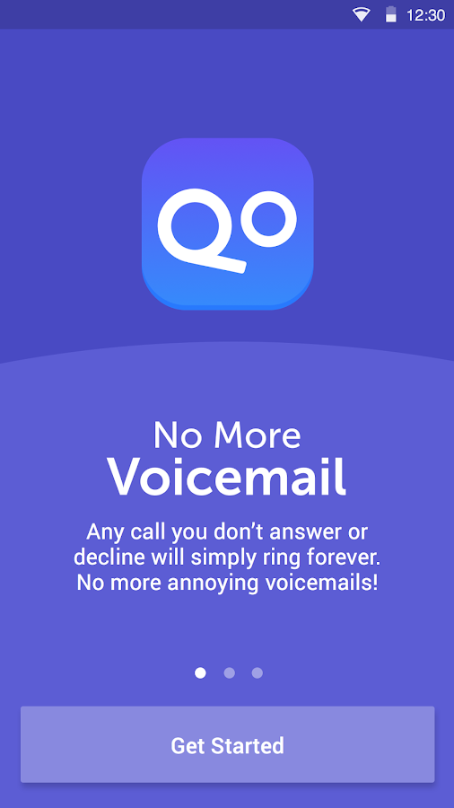 No More Voicemail- screenshot