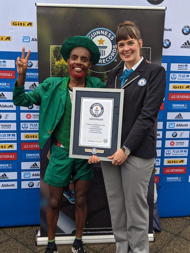 Cape Town man breaks bizarre world record to raise awareness for Palestine