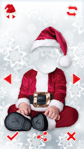 Santa Claus Photo Editor screenshot 4
