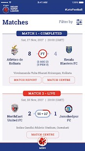 Indian Super League - Official App - náhled