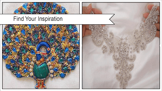 Awesome Hand Beaded Appliques - náhled