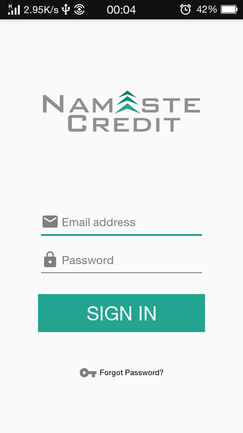 Namaste Credit Lender App- screenshot