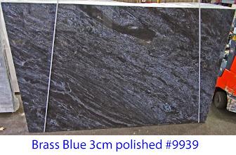 Photo: Brass Blue lot# 9939