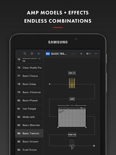 Fender Tone 3.0.1 screenshots 12