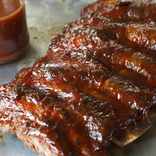 Oven-Baked Barbecue Ribs.